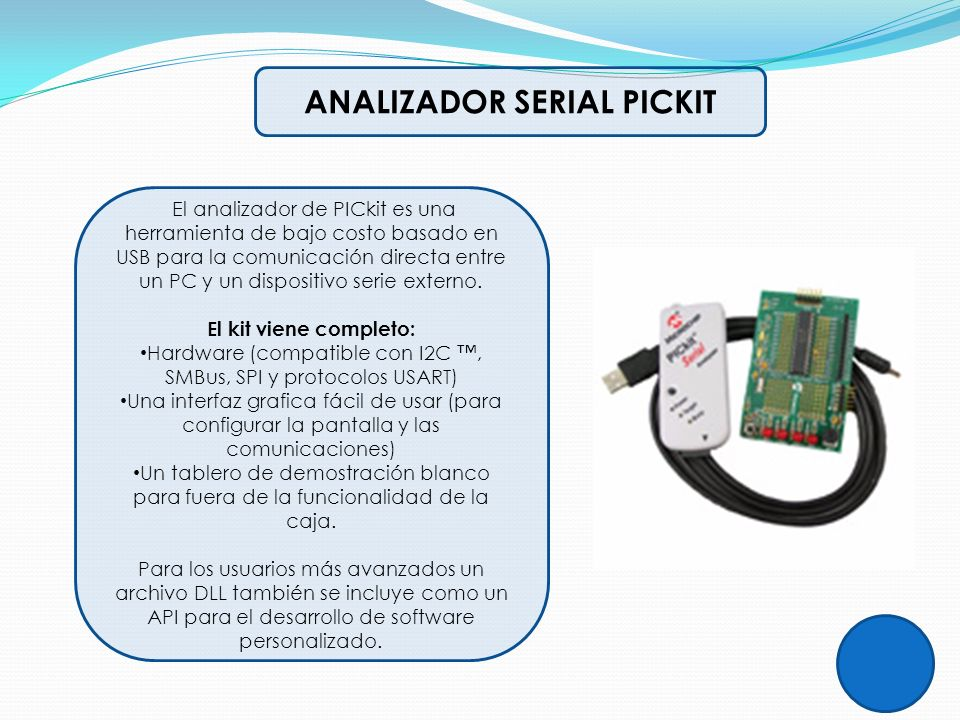 ANALIZADOR SERIAL PICKIT