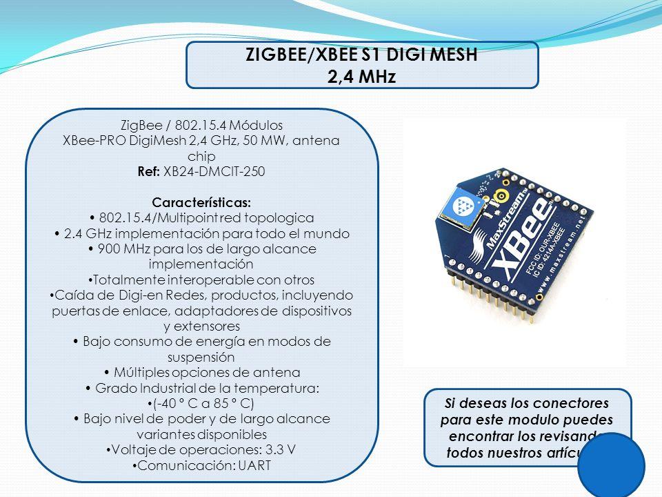 ZIGBEE/XBEE S1 DIGI MESH