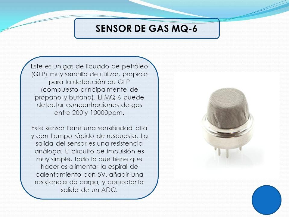 SENSOR DE GAS MQ-6