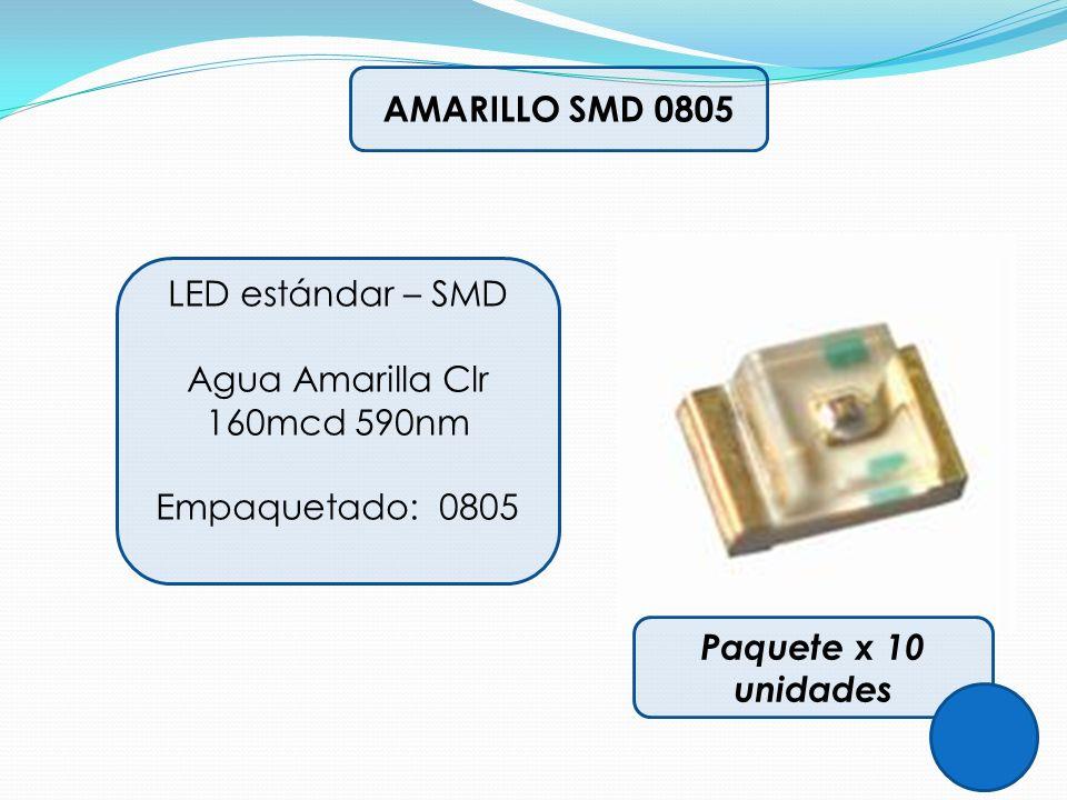 Agua Amarilla Clr 160mcd 590nm