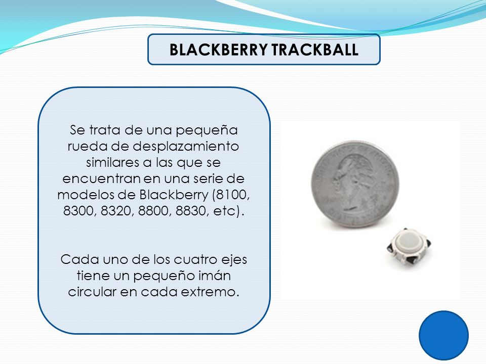 BLACKBERRY TRACKBALL