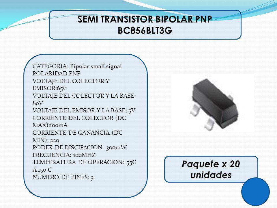 SEMI TRANSISTOR BIPOLAR PNP BC856BLT3G