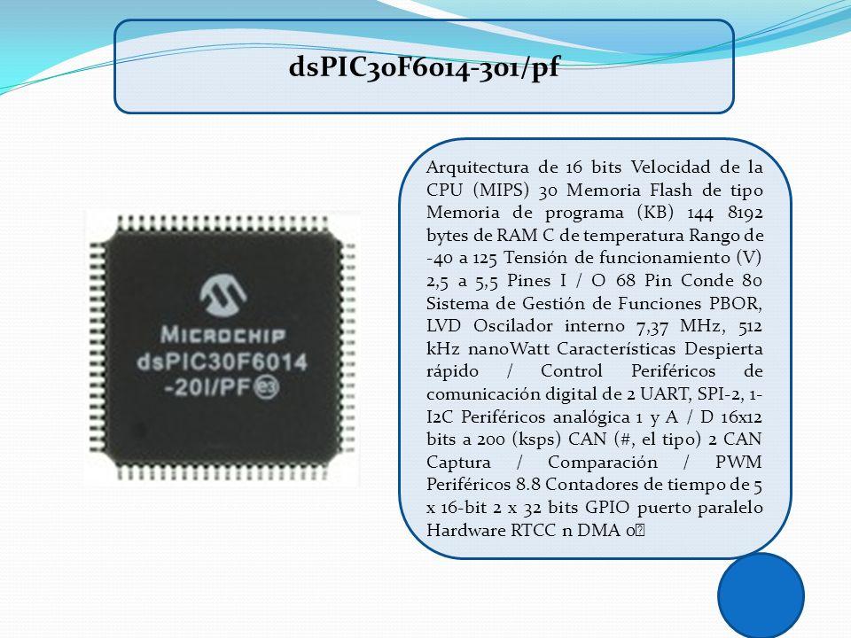 dsPIC30F6014-301/pf
