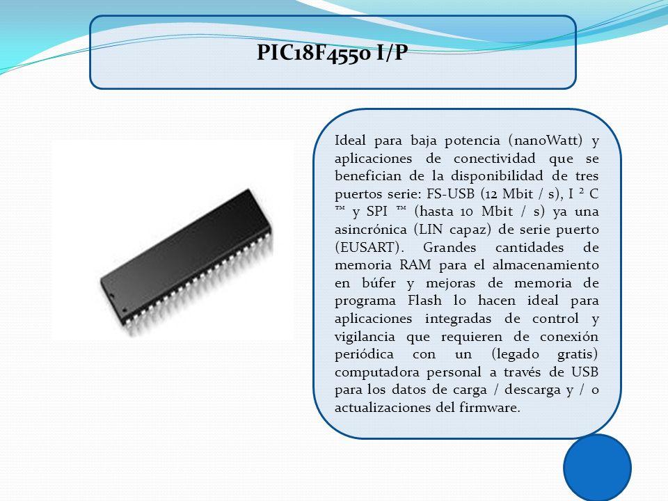 PIC18F4550 I/P