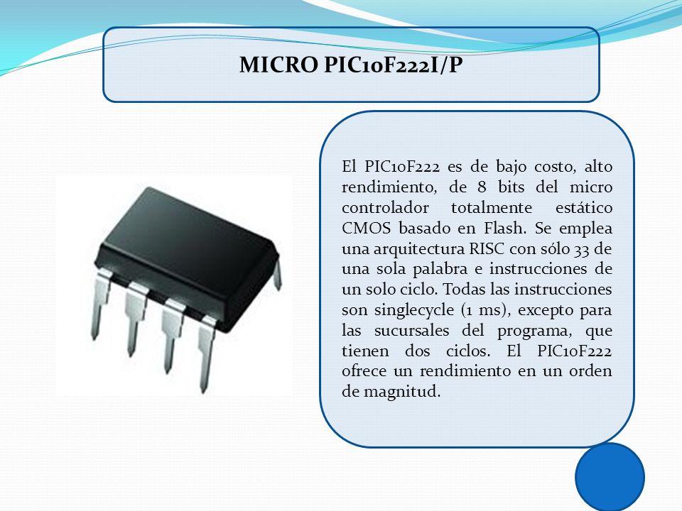 MICRO PIC10F222I/P