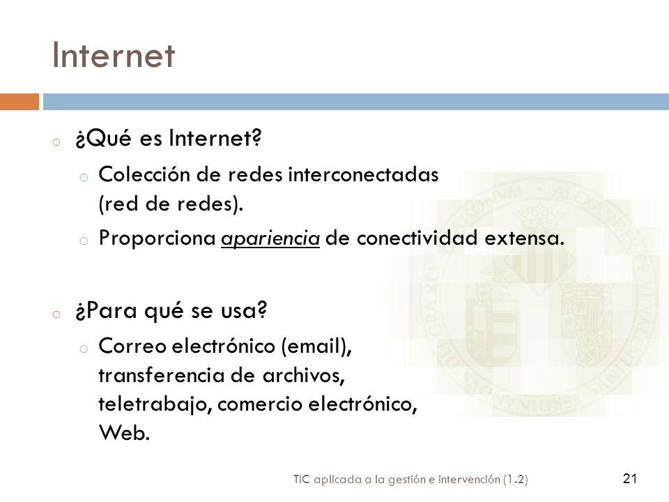 Internet ¿Qué es Internet ¿Para qué se usa