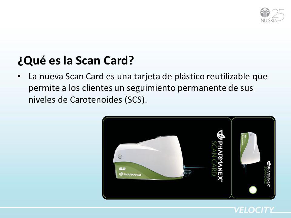 ¿Qué es la Scan Card