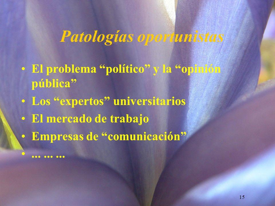 Patologías oportunistas