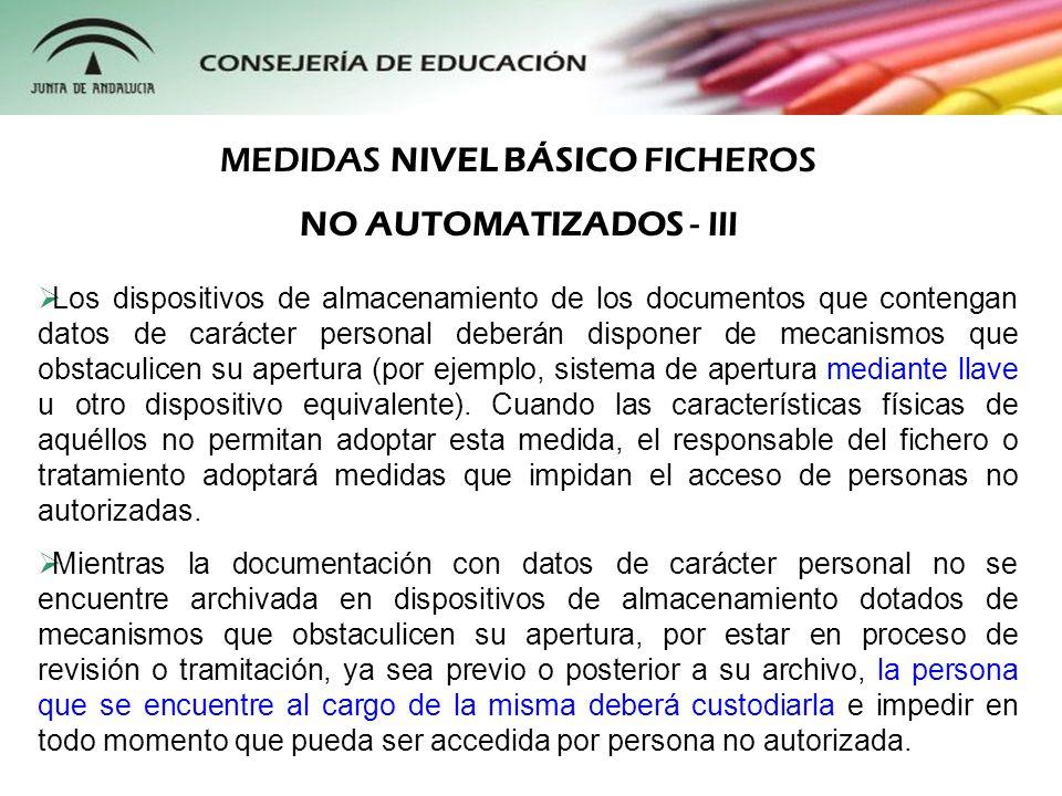 MEDIDAS NIVEL BÁSICO FICHEROS