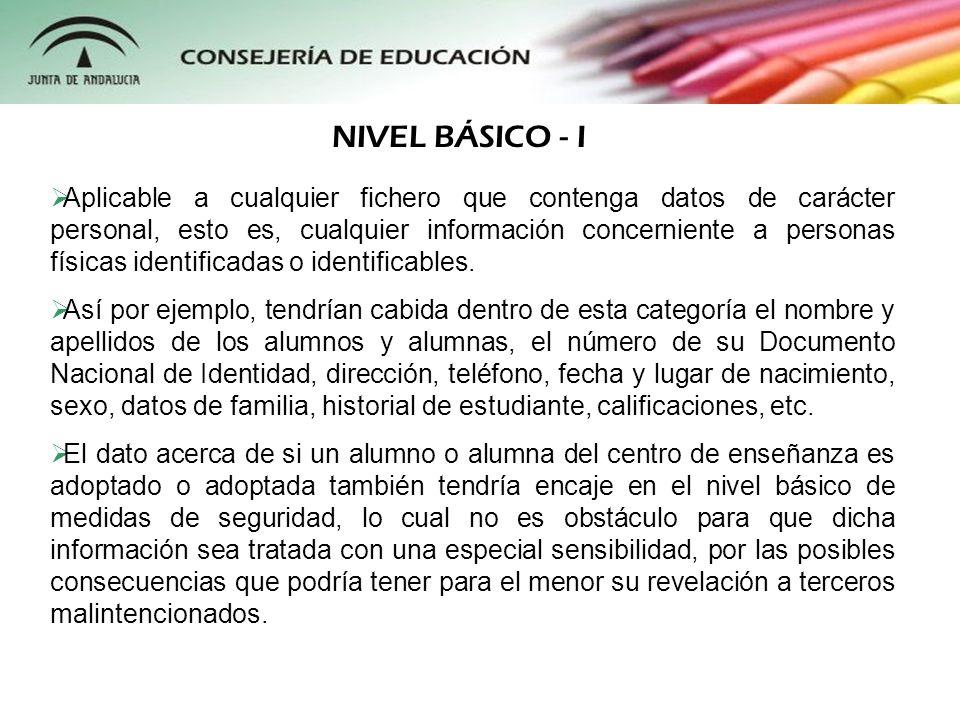 NIVEL BÁSICO - I