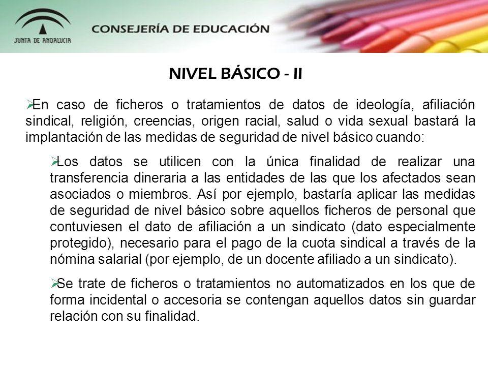 NIVEL BÁSICO - II