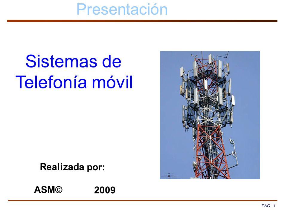 Sistemas de Telefonía móvil