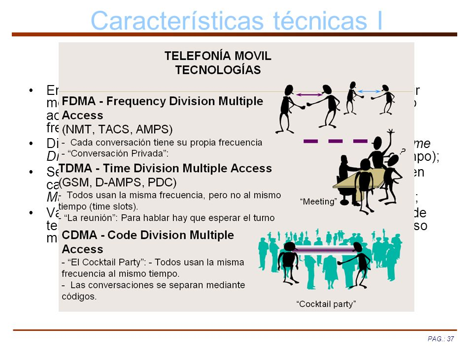 Características técnicas I