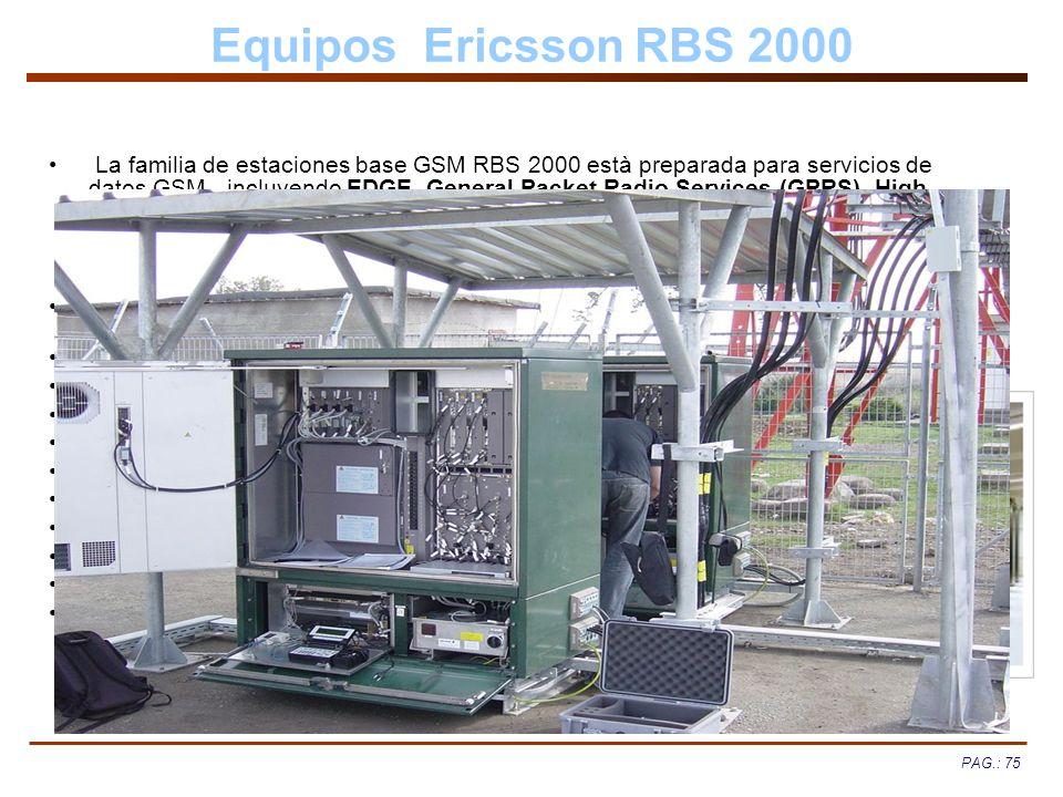 Equipos Ericsson RBS 2000