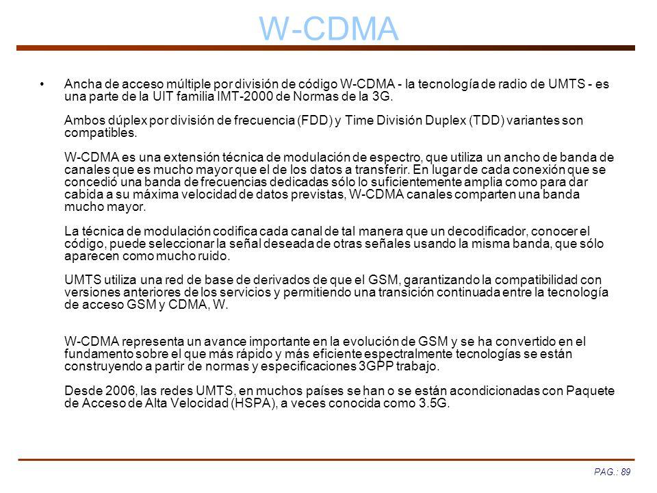 W-CDMA