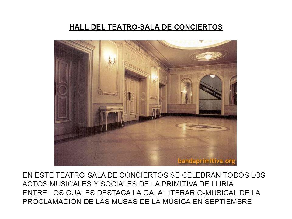 HALL DEL TEATRO-SALA DE CONCIERTOS