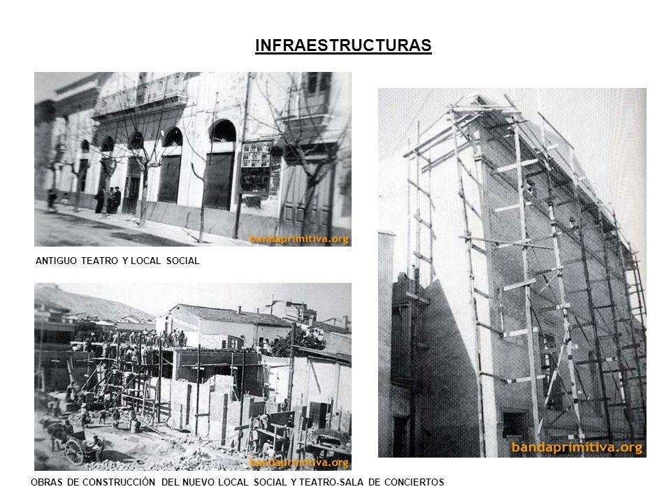 INFRAESTRUCTURAS ANTIGUO TEATRO Y LOCAL SOCIAL