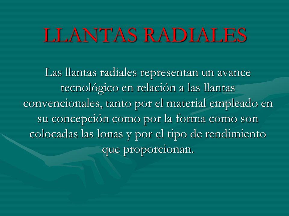 LLANTAS RADIALES
