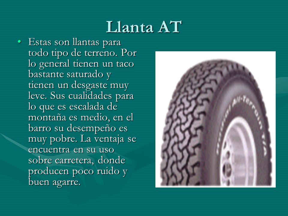 Llanta AT