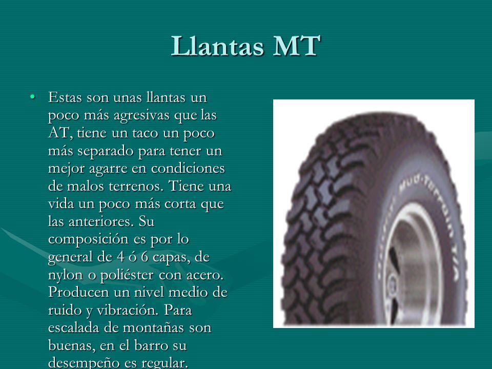 Llantas MT