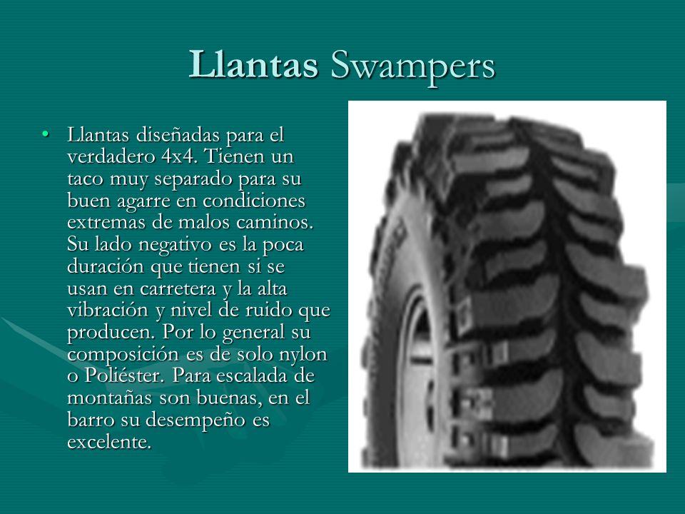 Llantas Swampers