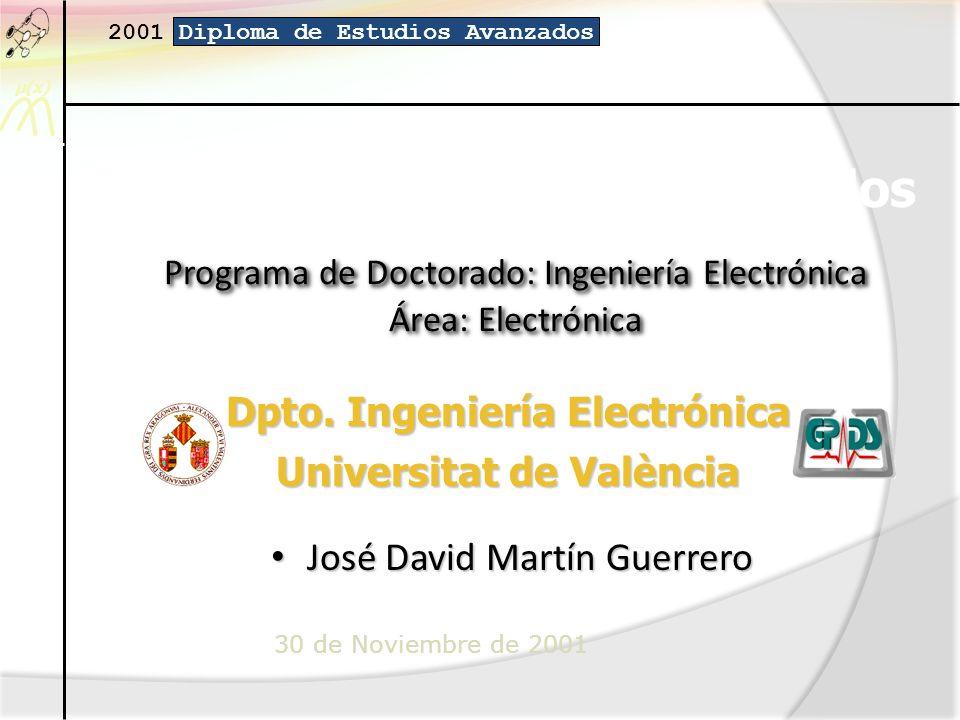 Programa de Doctorado: Ingeniería Electrónica Área: Electrónica