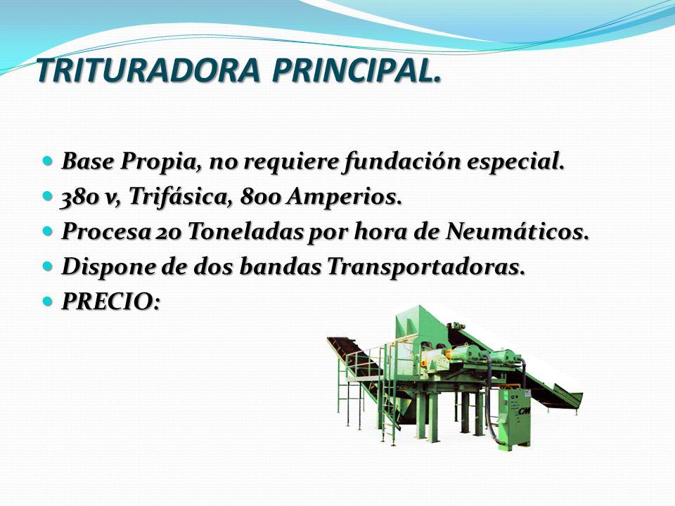 TRITURADORA PRINCIPAL.