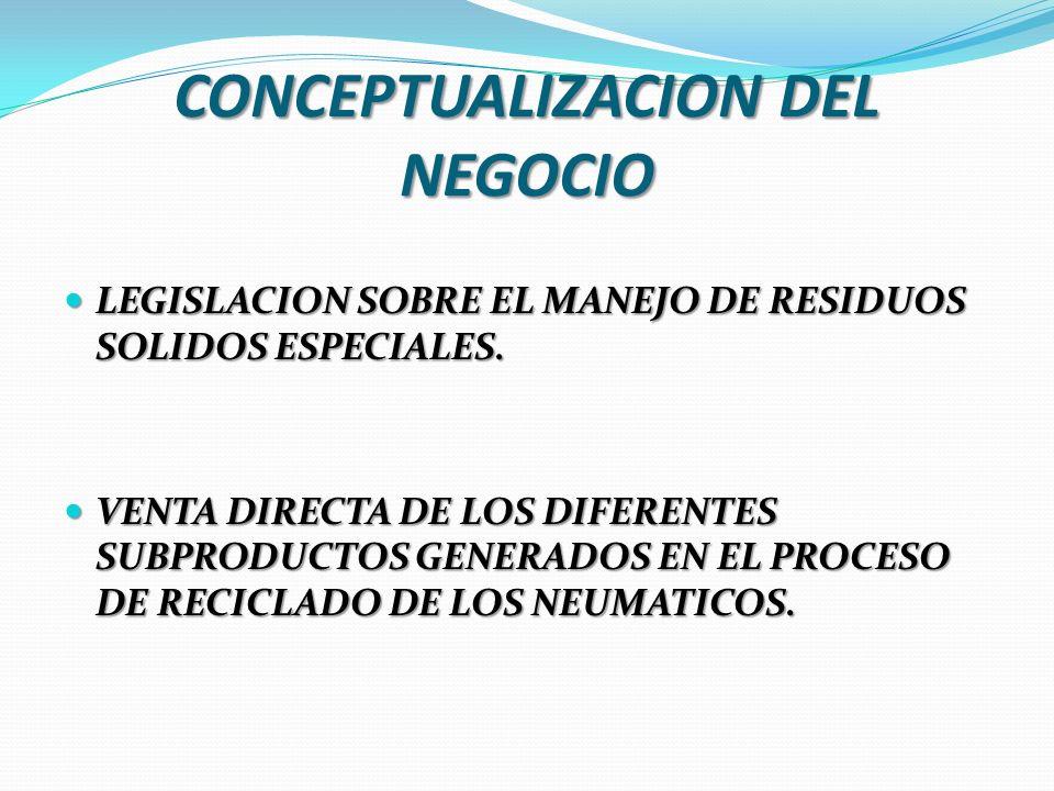 CONCEPTUALIZACION DEL NEGOCIO