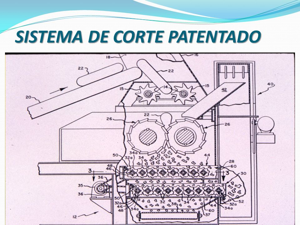 SISTEMA DE CORTE PATENTADO