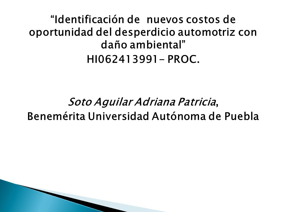 Soto Aguilar Adriana Patricia,