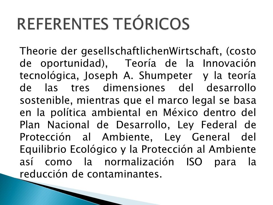 REFERENTES TEÓRICOS
