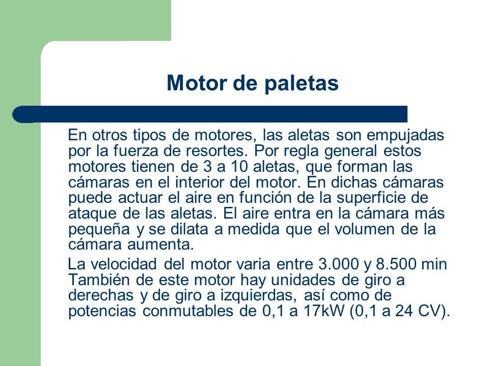 Motor de paletas