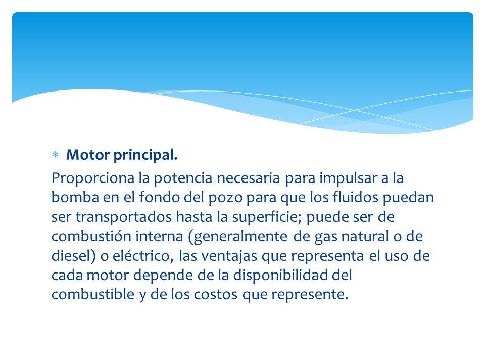 Motor principal.
