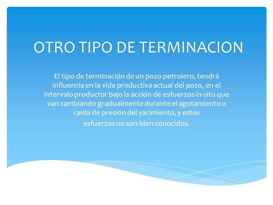 OTRO TIPO DE TERMINACION