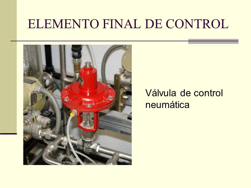 ELEMENTO FINAL DE CONTROL
