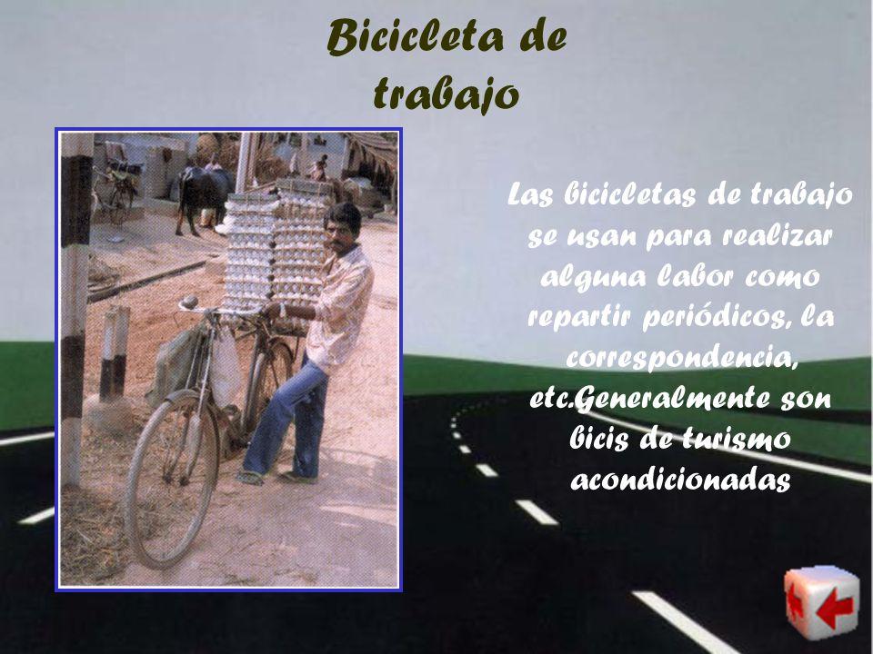 Bicicleta de trabajo
