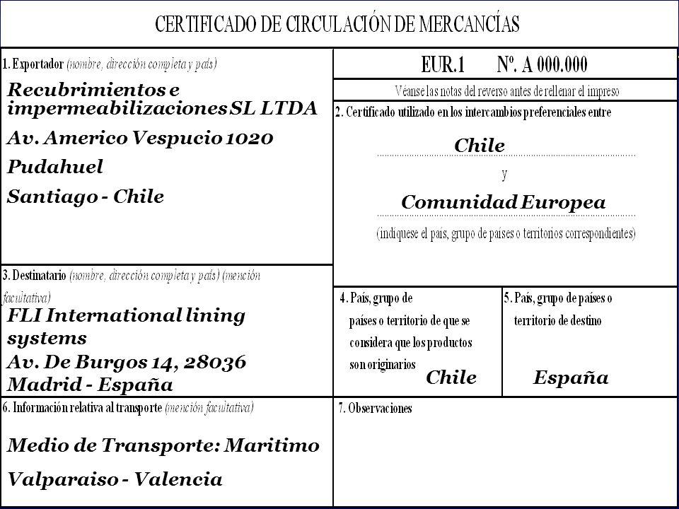 Recubrimientos e impermeabilizaciones SL LTDA