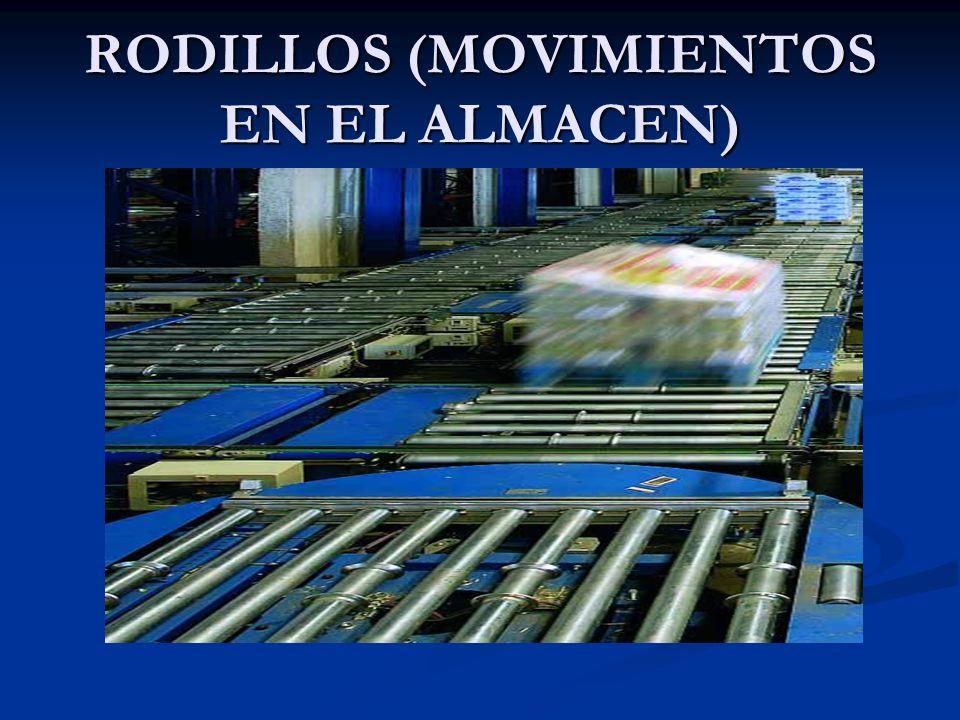 RODILLOS (MOVIMIENTOS EN EL ALMACEN)