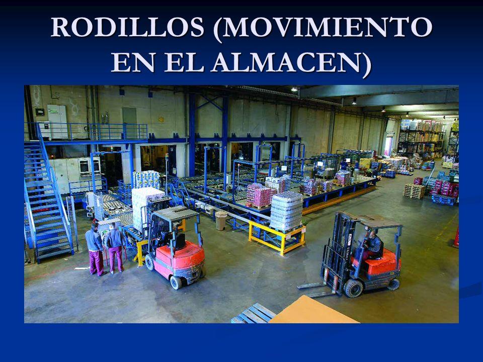RODILLOS (MOVIMIENTO EN EL ALMACEN)