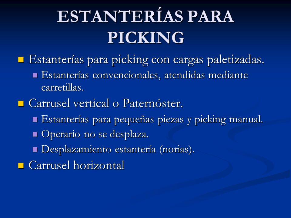ESTANTERÍAS PARA PICKING