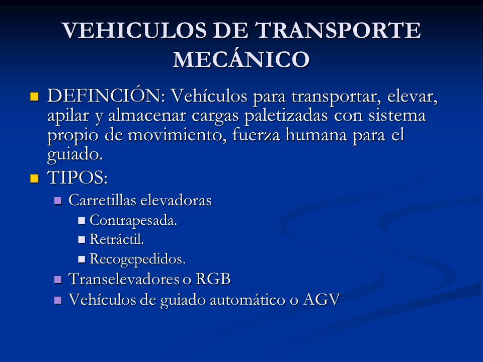 VEHICULOS DE TRANSPORTE MECÁNICO