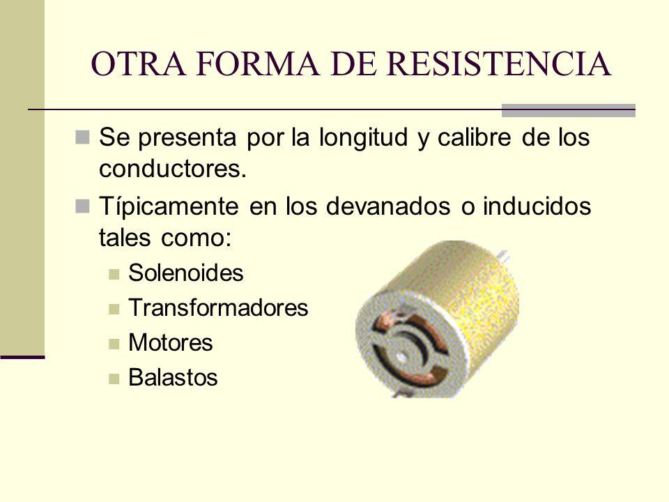 OTRA FORMA DE RESISTENCIA