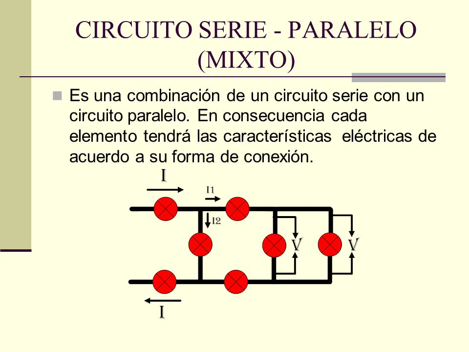 CIRCUITO SERIE - PARALELO (MIXTO)