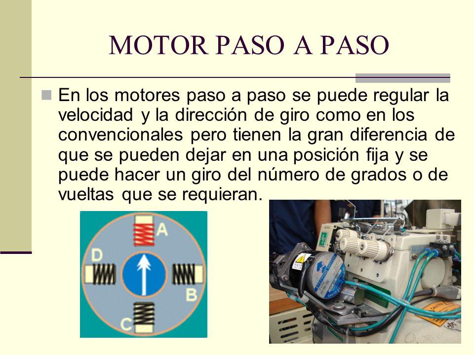 MOTOR PASO A PASO