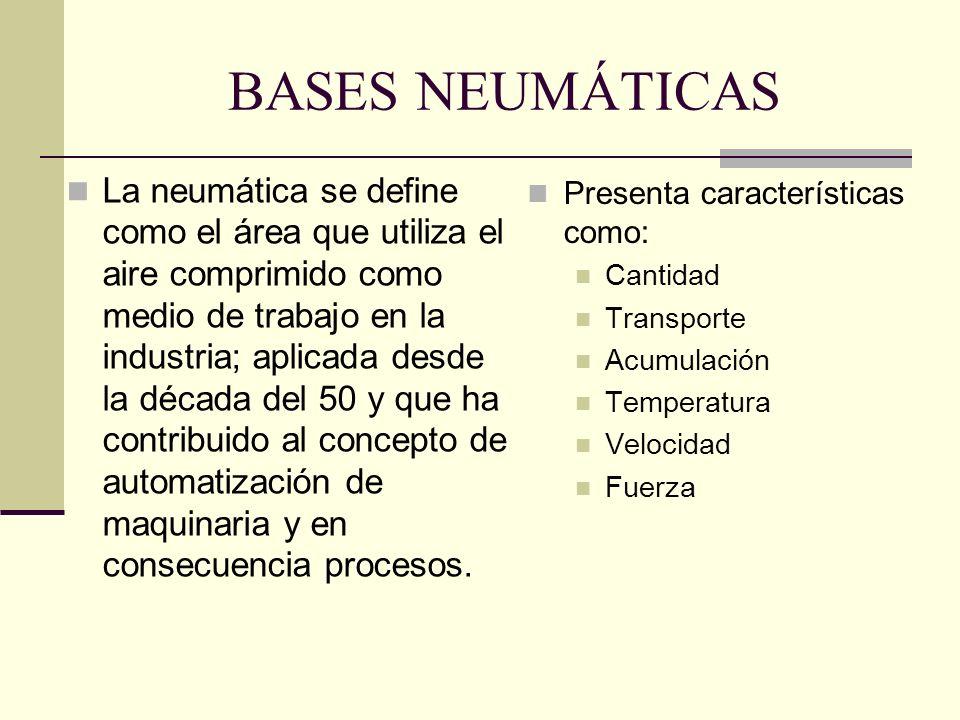 BASES NEUMÁTICAS