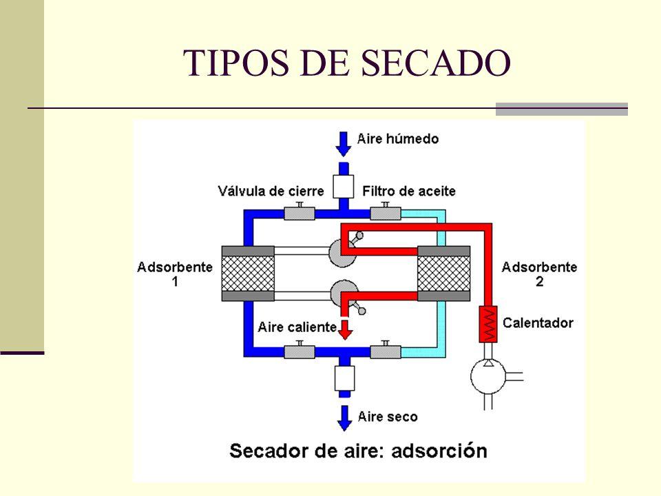 TIPOS DE SECADO