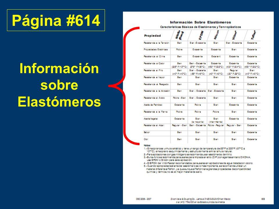Información sobre Elastómeros