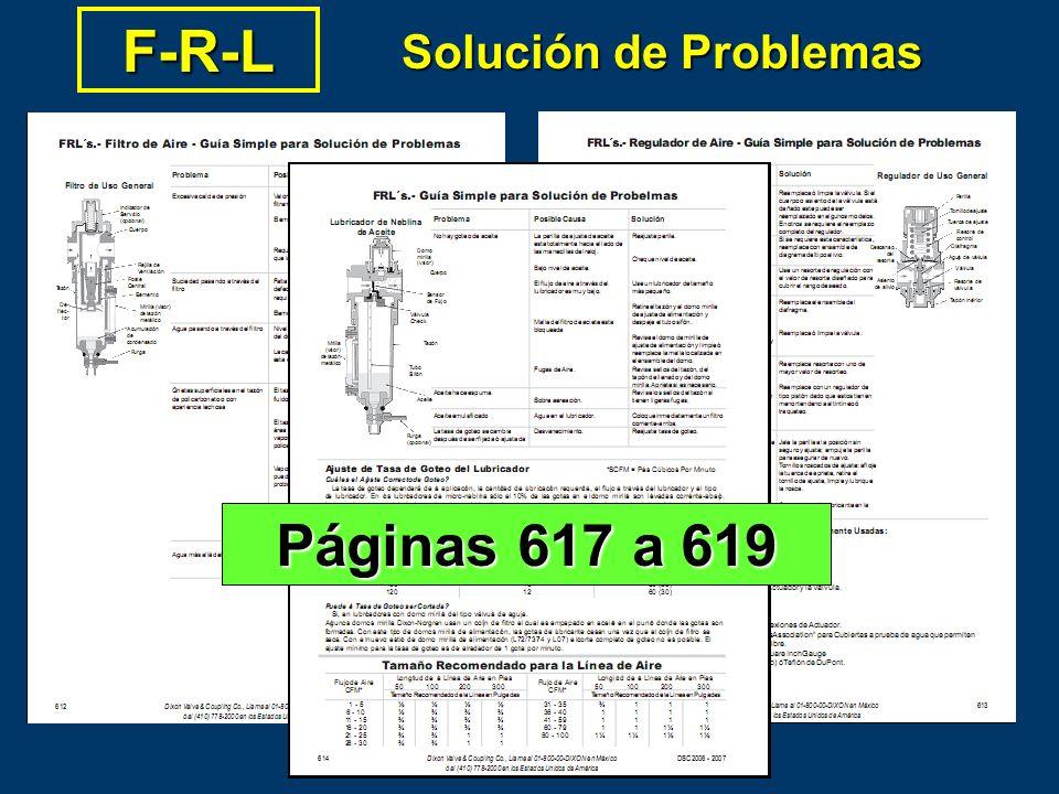 F-R-L Solución de Problemas Páginas 617 a 619