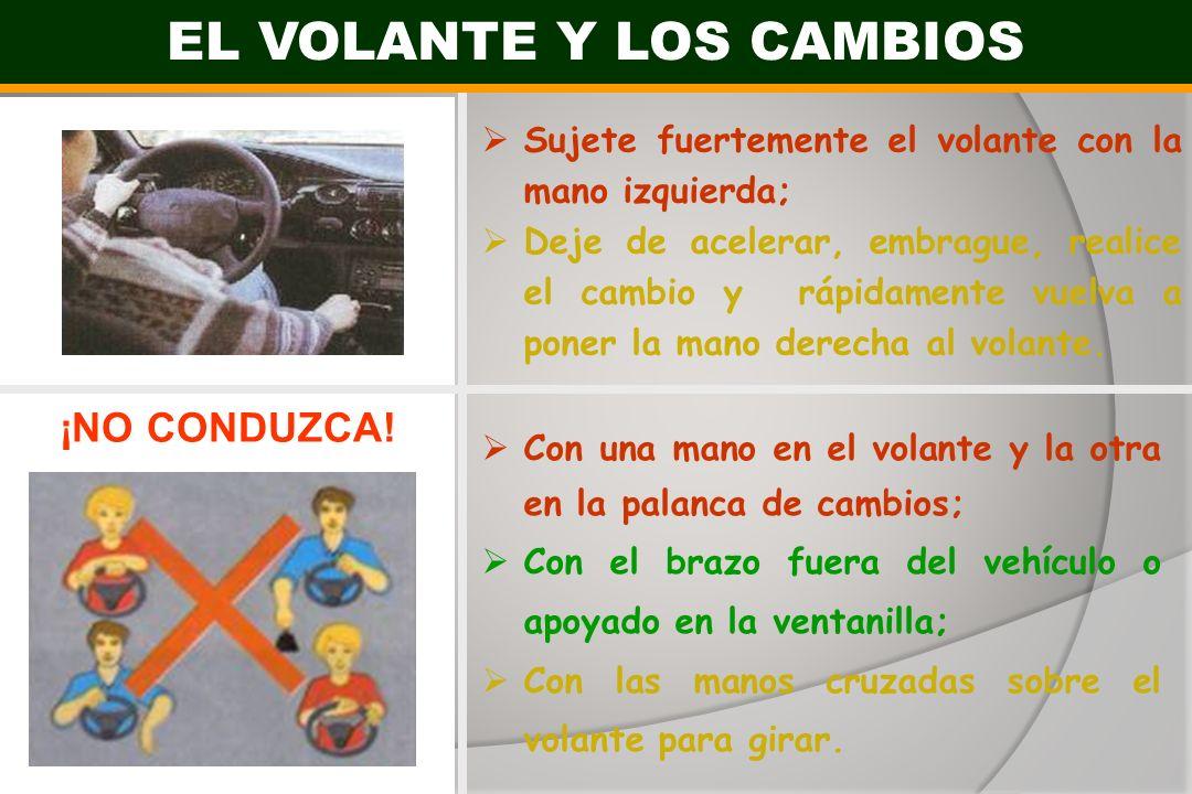 EL VOLANTE Y LOS CAMBIOS