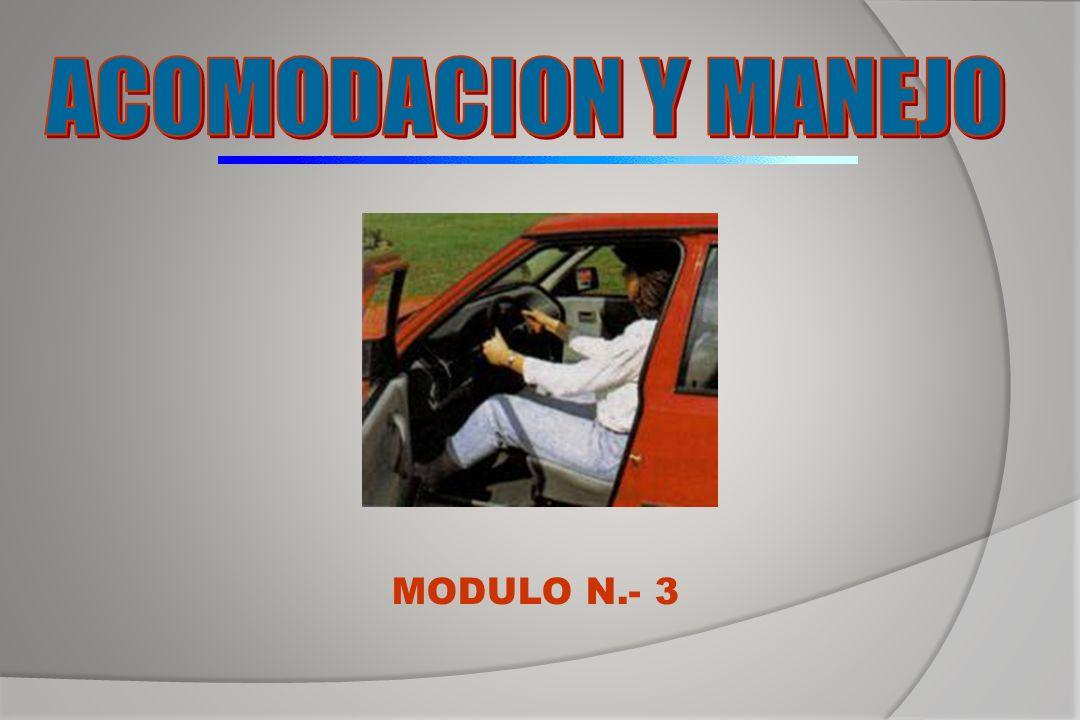 ACOMODACION Y MANEJO MODULO N.- 3
